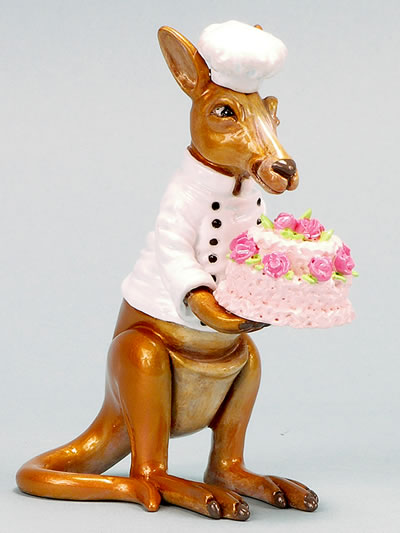 Kangaroo-Cake Decorator  by Ron Lee