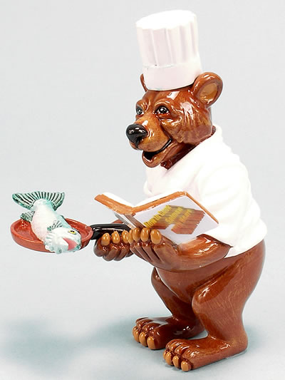 Bear-Chef De Poison  by Ron Lee