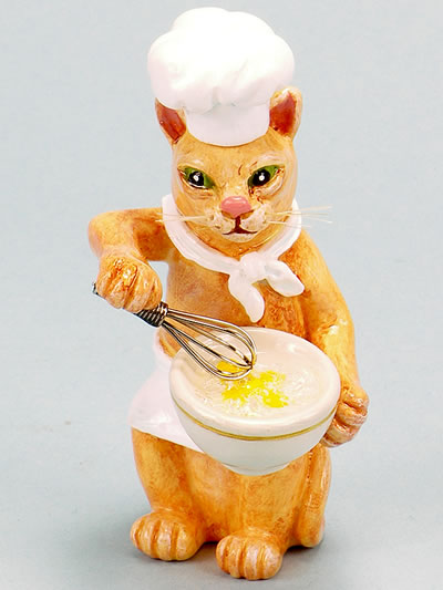 Cat-Breakfast Chef  by Ron Lee