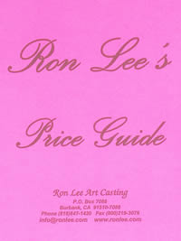 Ron Lee's Price Guide
