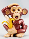 Monkey with Banana by Ron Lee