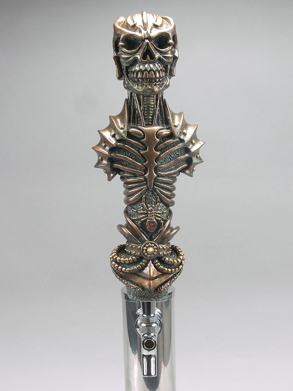 Zentar Warrior Beer Tap Handle
